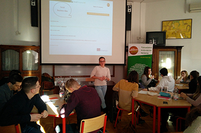 Social Innovation Relay Road Show by JA Hungary
