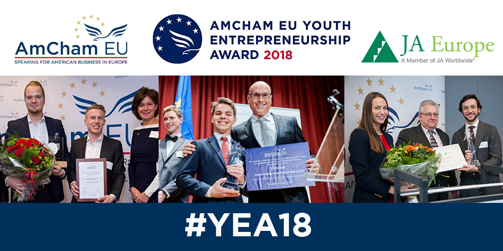 AmCham EU Youth Entrepreneurship Award 2018