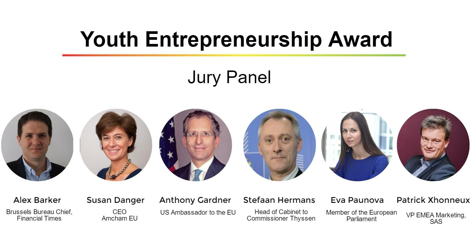 Youth Entrepreneurship Awards Judges